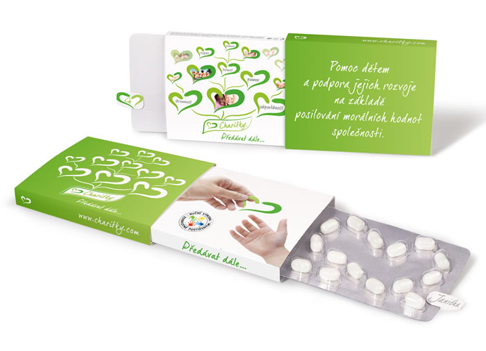 Charitky in a new packaging gives work to people with disabilities