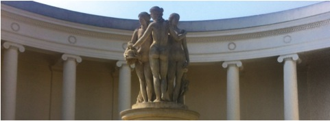 Charities are 3 Greek goddesses = The Three Graces